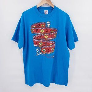 Vintage Oregon Trial Graphic Embroidered T-Shirt